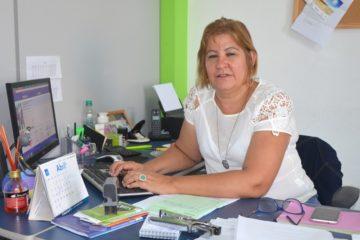 Secretária Elisete Brasil