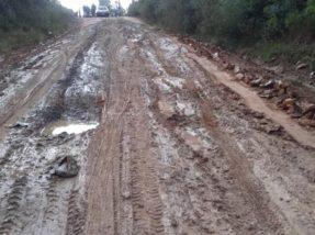 Estrada apresenta sérios problemas há bastante tempo