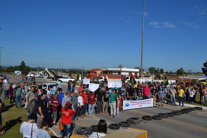 Comunidade candiotense está mobilizada