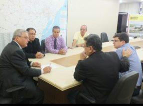 Audiência em Porto Alegre com o novo secretário de Transportes