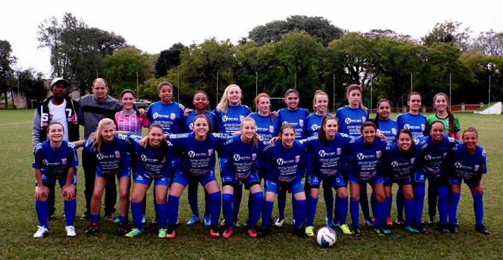 Equipe da AEJE que disputa o Gauchão