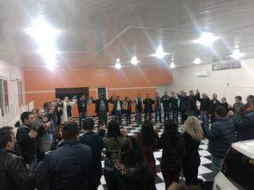 Militância e dirigentes dos partidos aliados acolheram o PDT em ato na sede do Simca