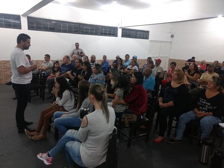 Comunidade que colocar mais público nas assembleias receberá mais recursos