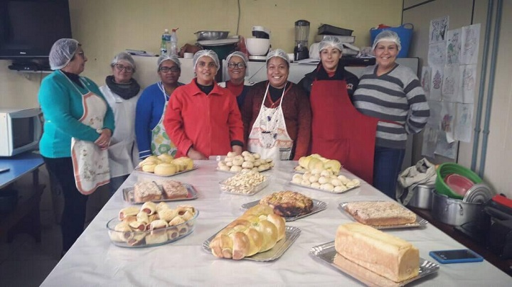 Pães e bolachas foram destaques no curso de Panificação