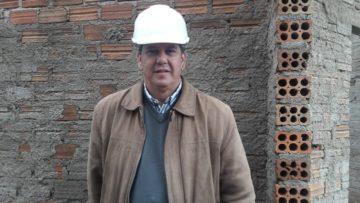Secretário de Obras, engenheiro Wagner Tavares é o autor do projeto do novo terminal rodoviário de  Hulha Negra