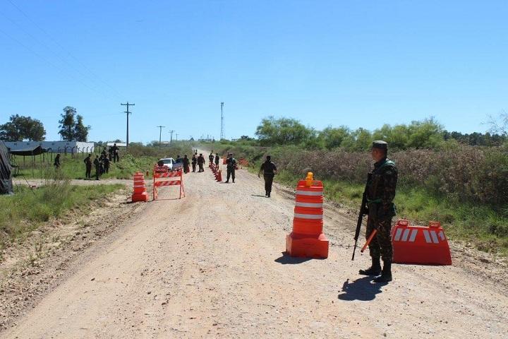 barreiras estão ocorrendo de volante nos municípios