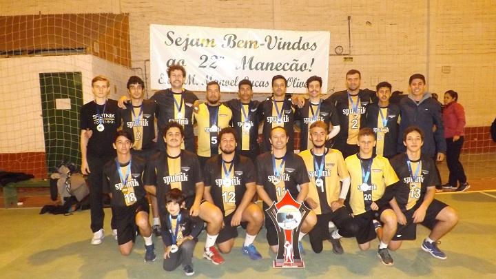 Sputnik, de Uruguaiana, conquistou o campeonato na categoria masculina