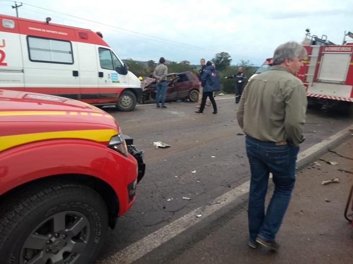 Resgates foram acionados para prestar socorro às vítimas