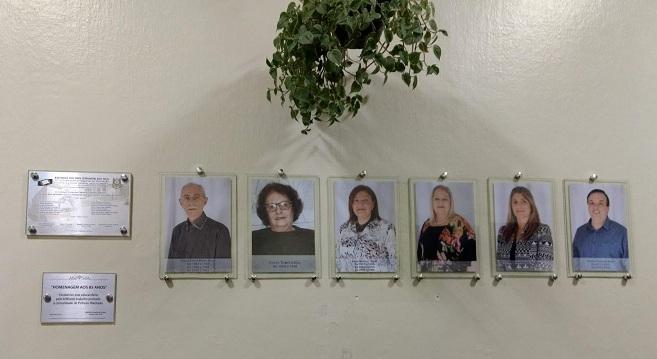Desde 1927, o colégio contou com apenas 14 diretores