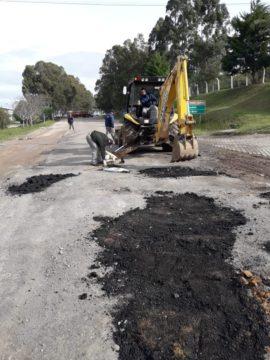 Na semana passada, Prefeitura iniciou nova operação tapa-buracos