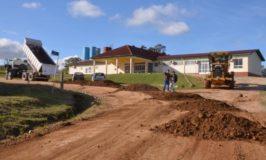 Ruas Dirceu Araujo e Cândida de Moraes foram as primeiras a ser recuperadas