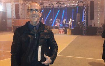 Pastor Volney Jorge manifestou alegria pela noite gospel