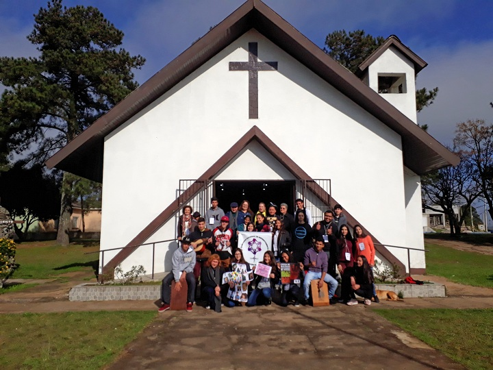 Encontro aconteceu na no salão da Comunidade Imaculada Conceição