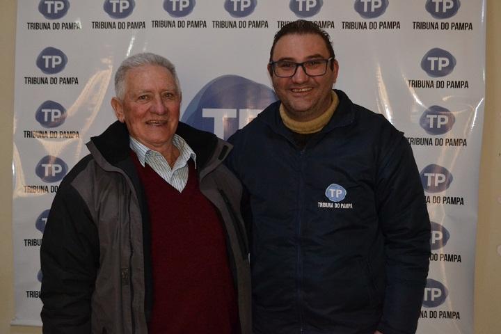 Vereador esteve esta semana no TP, sendo recebido pelo diretor João André Lehr