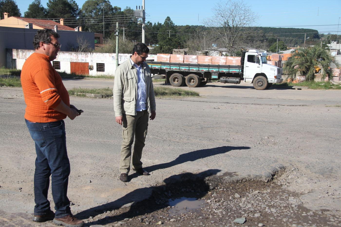 Ao todo serão refeitos seis trechos ao longo do principal acesso do município