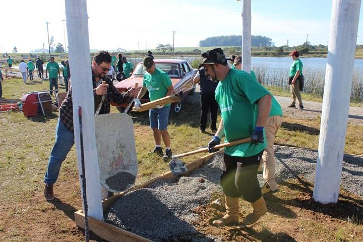 Segundo o prefeito Adriano, o trabalho da comunidade fez toda a diferença
