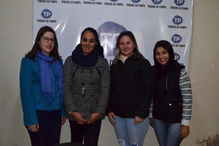 Comissão de formatura visitou o TP e convida toda a comunidade a prestigiar o bingo