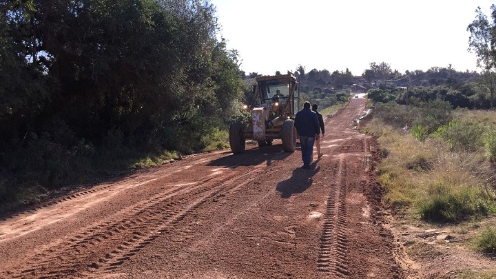 Prefeito Adriano percorreu as estradas do município junto ao secretário Renato Cunha
