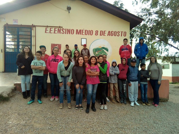 A iniciativa faz parte de uma série de atividades propostas pela professora Suélen Funari