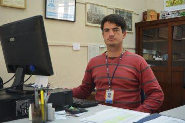 Rafael Lopes é o chefe do escritório da Emater de Pinheiro Machado