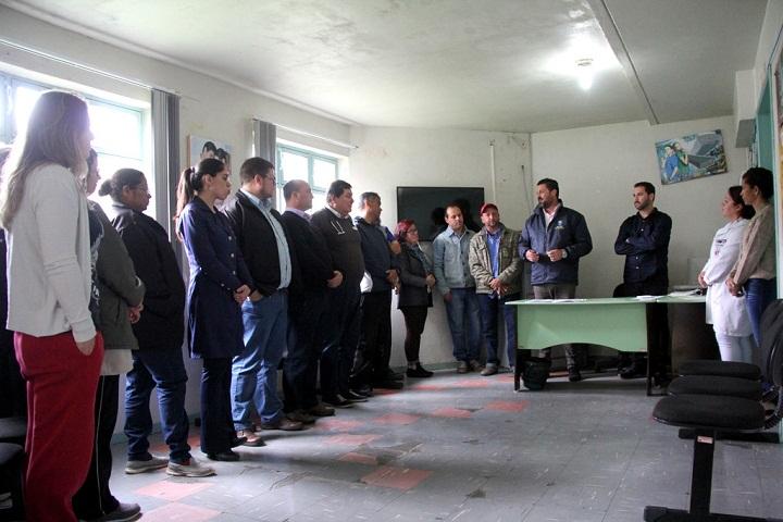 Prefeito Adriano e o vice e secretário de Saúde Gil Deison anunciaram a parceria