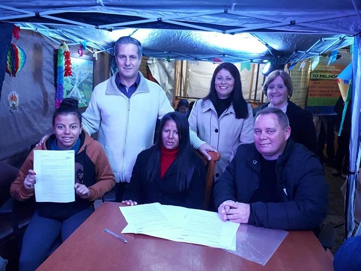 Termo de adesão ao programa foi assinado durante a Fejupa